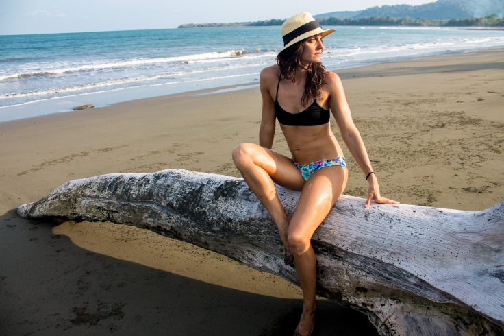 Costa Rica aparigraha Blue OSa Beach Jess