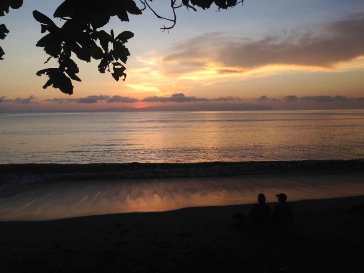 Sunrise Costa Rica morning