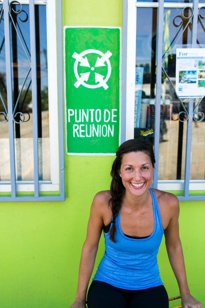 Urban Yoga in Costa Rica at the bomba in Puerto Jimenez, Osa Peninsula while I was staying at Blue Osa