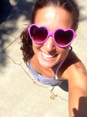 Heart Sunglasses just because