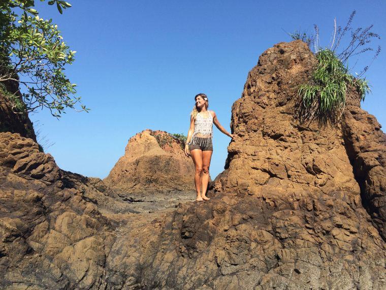 Santa Catalina Panama Yogiiza Beach Rock Summer