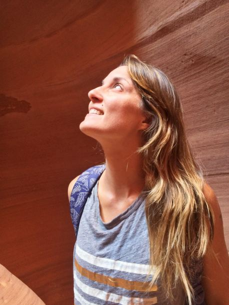 Antelope Canyon Arizona and why it's not okay to text
