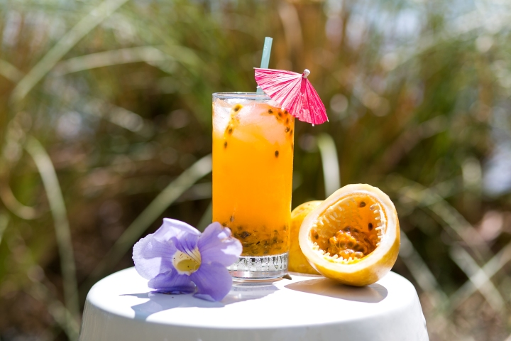 Passion Fruit Cocktail Blue Osa Costa Rica Yoga