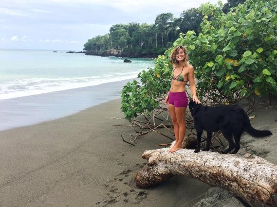 Costa Rican Beach Matapalo Costa Rica Valentina Rose Blog Dog