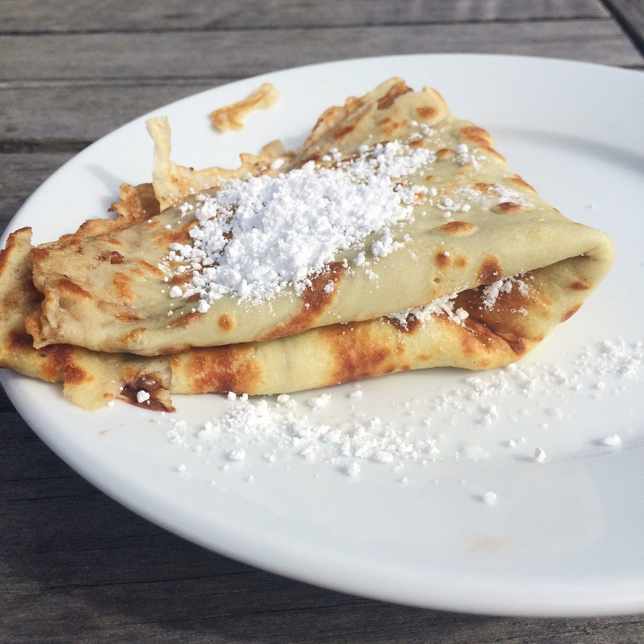 Crepe with Nutella Valentina Rose Costa Rica Nutrition Blog