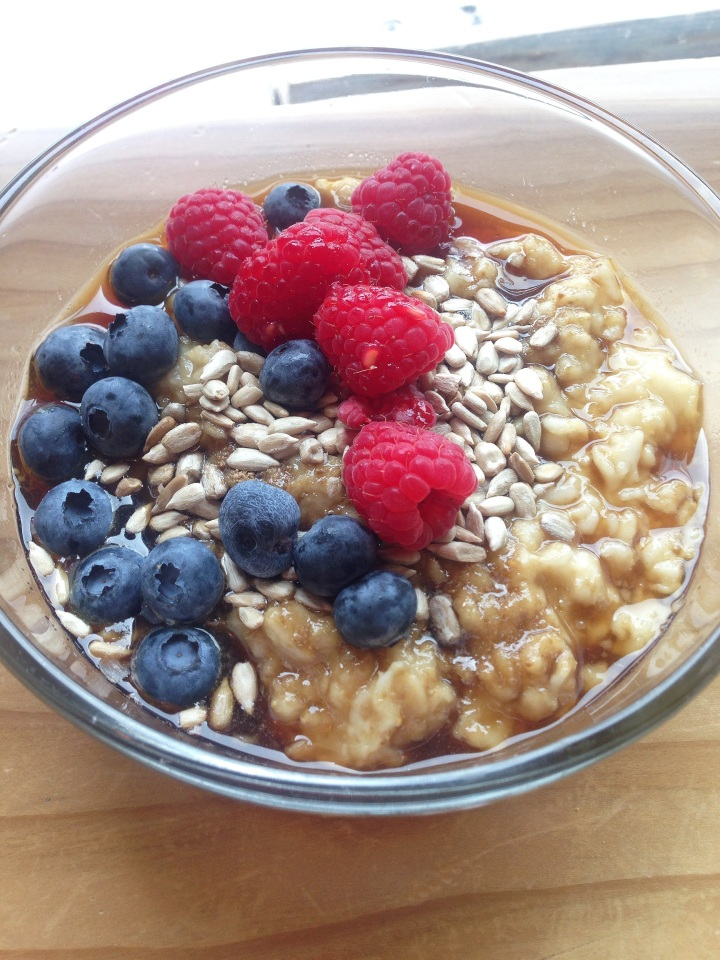 Oatmeal Valentina Rose Costa Rica Nutrition Blog