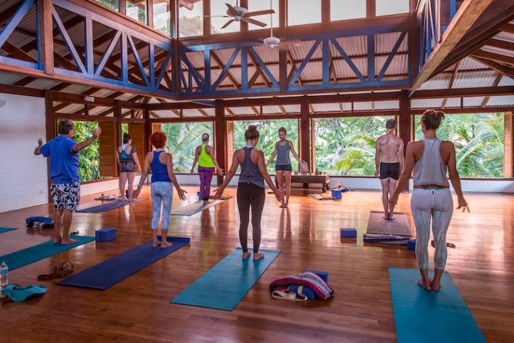 Happy New You Yoga Retreat Testimonial Valentina Rose Blog Costa Rica Tadasana