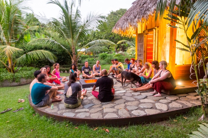 Happy New You Yoga Retreat Testimonial Valentina Rose Blog Costa Rica Temple Ritual