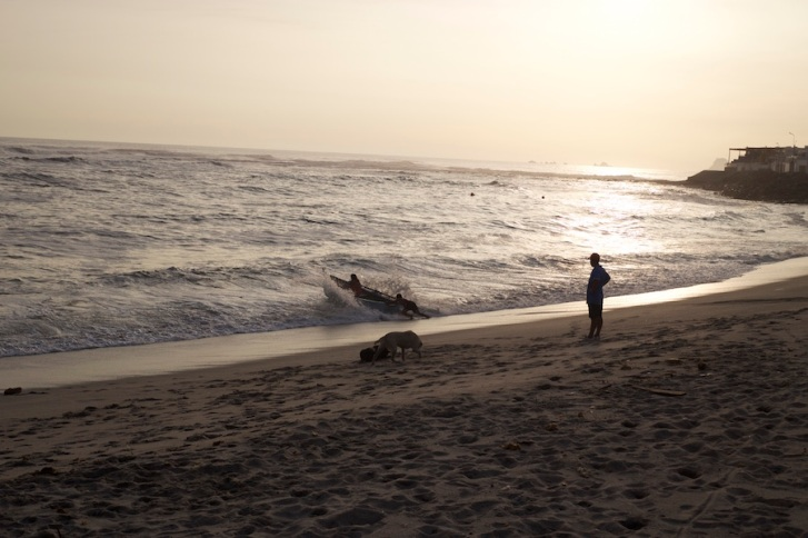 Traveling to Costa Rica Without a Yellow Fever Vaccine Valentina Rose Blog Beach Sunset in Punta Hermosa Lima Peru