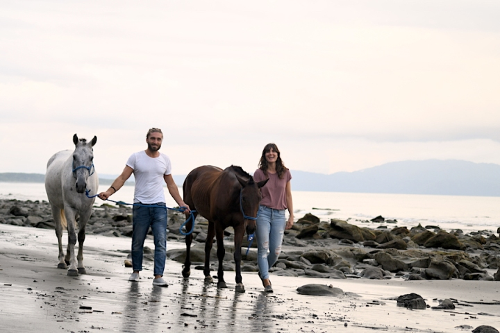Horse Therapy Costa Rica Osa Peninsula New Year's Eve Yoga Retreat Beach Romantic Sunset.JPG