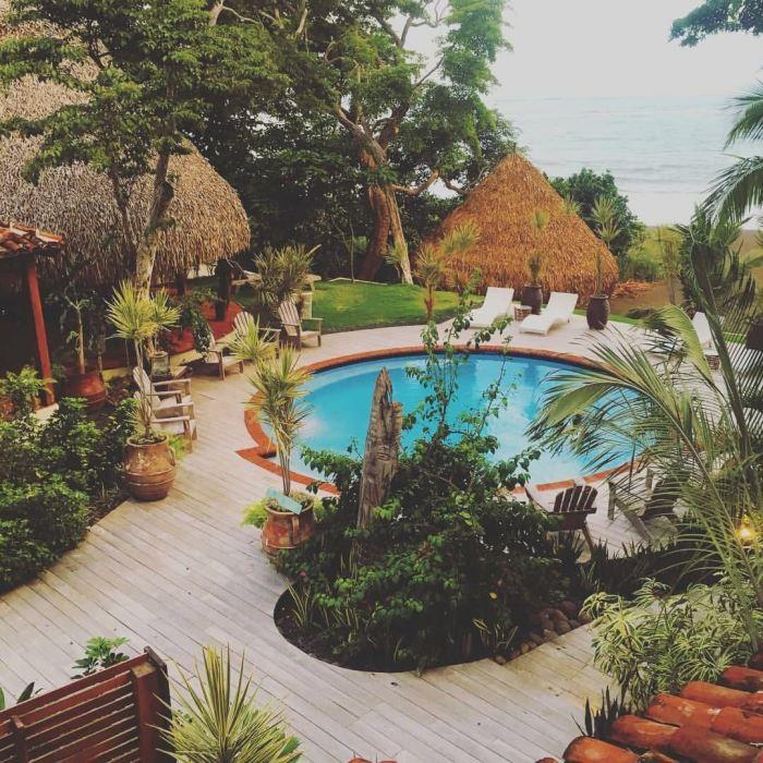 Sansara Magic- Our Scouting Trip To Cambutal, Panama For Happy New You! Yoga Retreat- sansara pool