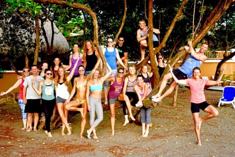 Beach Group Shot Panama Happy New You! 2017 Cambutal Sansara Yoga and Spa .jpg