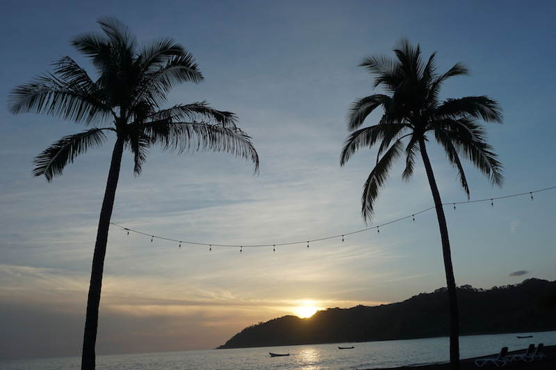 Beautiful sunset Panama Happy New You! 2017 Cambutal Sansara Yoga and Spa .jpg
