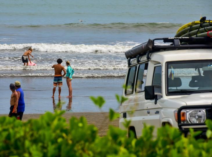 Lisa and Kenny Surfing Panama Happy New You! 2017 Cambutal Sansara Yoga and Spa 1.jpg