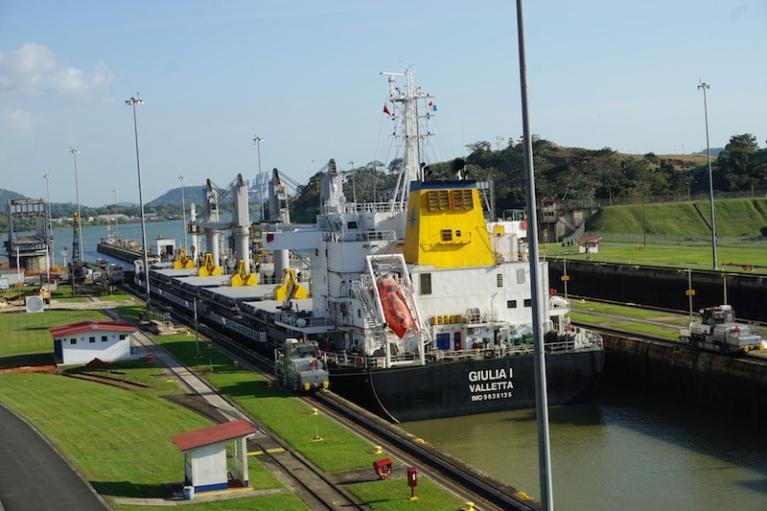 Panama Canal Close Up Panama Happy New You! 2017 Cambutal Sansara Yoga and Spa .jpg