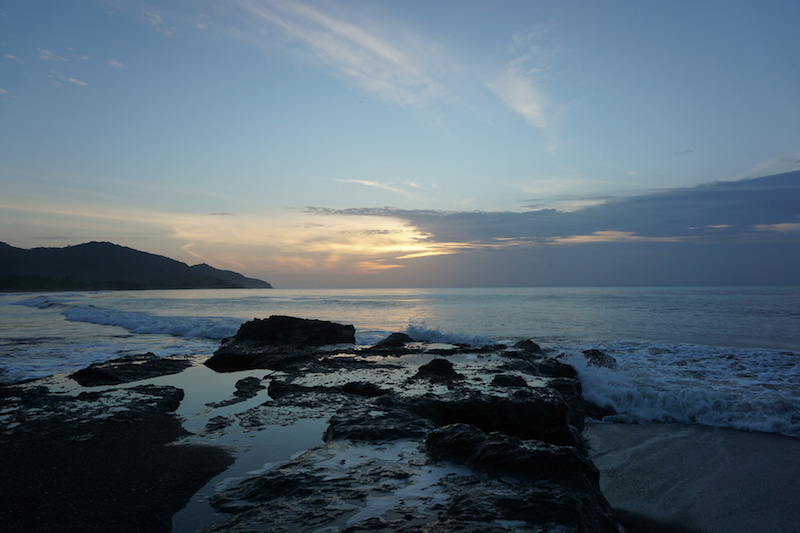 Sunrise Tidepools Panama Happy New You! 2017 Cambutal Sansara Yoga and Spa .jpg