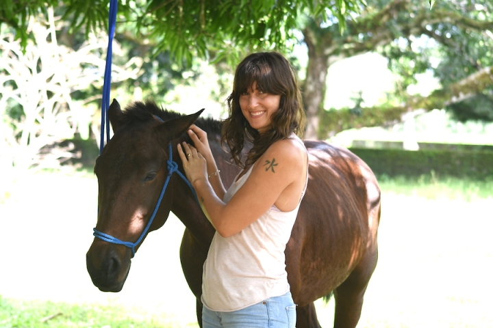 Horse Therapy Costa Rica Osa Peninsula New Year's Eve Yoga Retreat- Valentina Horse Connection
