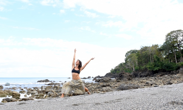 Valentina Rose Costa Rica Yoga Retreat Matapalo Osa Peninsula Backwash Beach