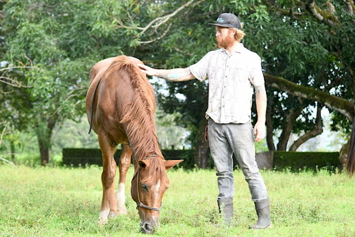 Horse Therapy Costa Rica Osa Peninsula New Year's Eve Yoga Retreat Ben
