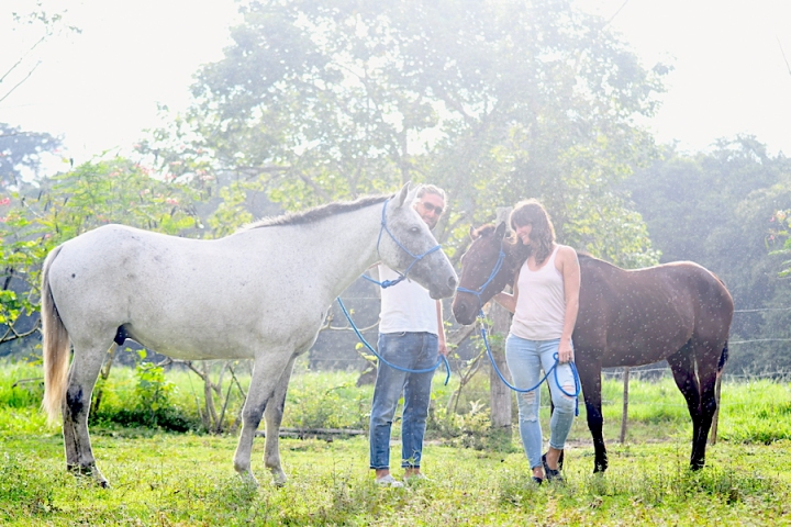 Horse Therapy Costa Rica Osa Peninsula New Year's Eve Yoga Retreat Luca Valentina