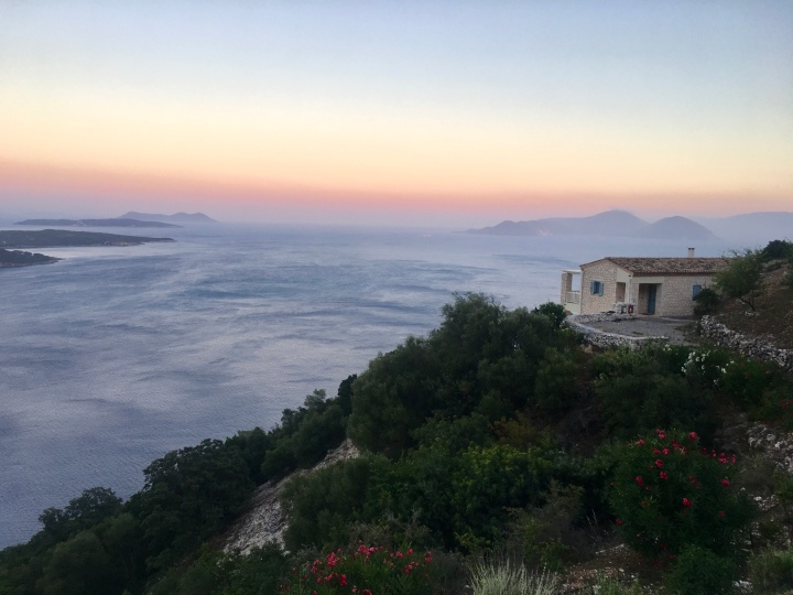 Greece Retreat Iyengar Yoga Lefkada Urania Villas Summer 2019 Valentina Tessa
