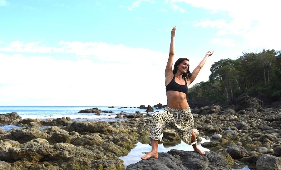 Valentina Rose Costa Rica Yoga Backwash Matapalo